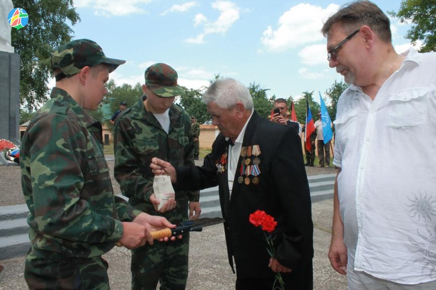 Акция «Горсть Памяти» в Моршанске