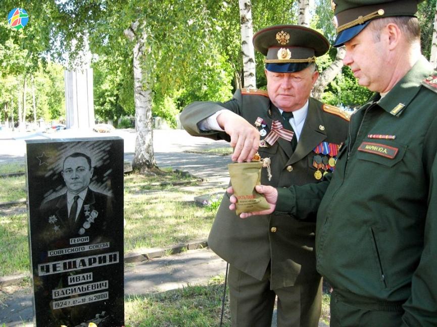 Никто не забыт - в Моршанске продолжается акция «Горсть Памяти»
