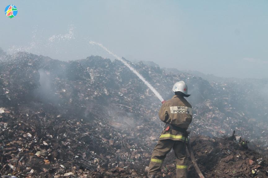 Устраняются последствия пожара на Моршанском полигоне