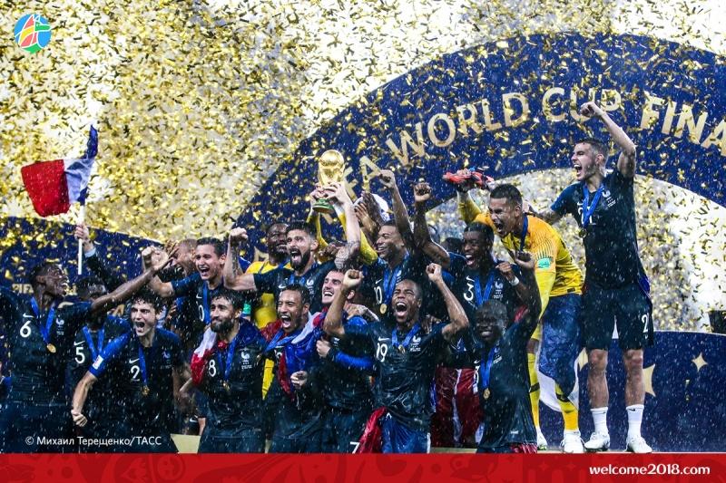 Сборная Франции выиграла золотоЧМ